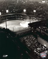 Forbes Field - Night Shot Framed Print