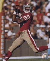Jerry Rice - Over the shoulder catch - 49ers Fine Art Print