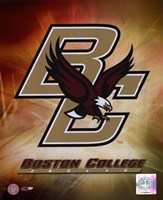 "Boston College Logo by Angela Ferrante - 8"" x 10"" - $12.99"