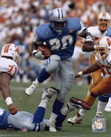 Barry Sanders - Action Fine Art Print
