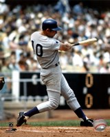 Ron Santo - Batting action Fine Art Print
