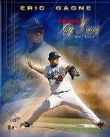 Eric Gagne - 2003 National League Cy Young Award Winner Fine Art Print