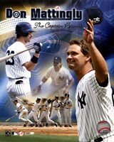 "Don Mattingly - ""The Captain Returns"" Composite Fine Art Print"