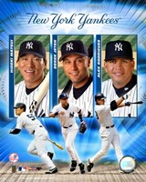 "2004 Yankees ""Big3""- HITTERS by Angela Ferrante, 2004 - 8"" x 10"""
