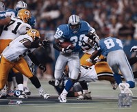 Barry Sanders - Game Action Fine Art Print