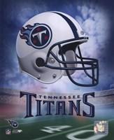 Tennessee Titans Helmet Logo Fine Art Print