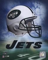 Jets Helmet Logo ('04) Framed Print