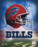 Bills Helmet Logo ('04) Fine Art Print