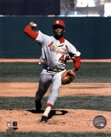 Bob Gibson - Pitching Action Fine Art Print