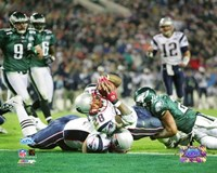 Corey Dillon - Super Bowl XXXIX - 4th quarter 2-yard touchdown run Fine Art Print