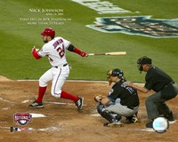 4/14/05 - Nick Johnson / 1st Hit At RFK Stadium In More Than 33 Years Fine Art Print
