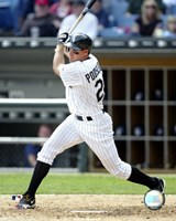 2005 - Scott Podsednik Batting Action Fine Art Print