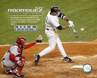 Alex Rodriguez - 4/26/05 10 Runs Batted In Fine Art Print