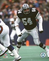 Randy White - Game Action Fine Art Print