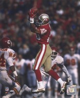 Jerry Rice - Leaping Catch Fine Art Print