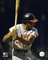 Frank Robinson - Batting Action Fine Art Print