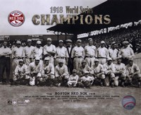 1918 Red Sox World Series Champions Framed Print
