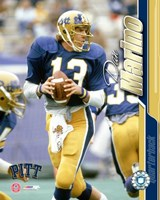 Dan Marino / University of Pittsburgh #2 Fine Art Print