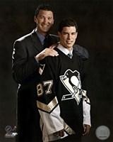 2005 - Sidney Crosby / Mario Lemieux Draft Day Fine Art Print