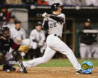 Scott Podsednik - '05 World Series Game 2 / Game Winning Home Run Fine Art Print