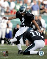 """David Akers - '05 / '06 Action by Angela Ferrante - 8"""" x 10"""""""