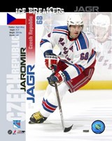 Jaromir Jagr - Ice Breakers Composite Fine Art Print