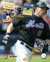 "David Wright - '05 Scrapbook by Angela Ferrante - 8"" x 10"", FulcrumGallery.com brand"