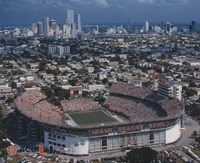 Orange Bowl - (University of Miami) Fine Art Print