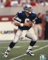 Troy Aikman - Action Fine Art Print