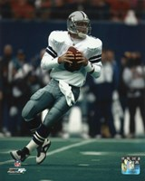 Troy Aikman - Dallas Cowboys Fine Art Print