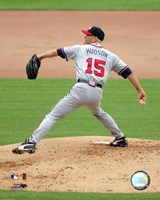 Tim Hudson 2006 Action Fine Art Print