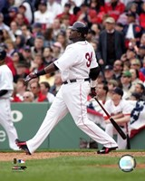 David Ortiz - 2006 Batting Action Fine Art Print