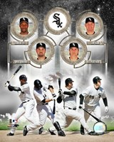 White Sox - 2006 Big 4 Hitters Fine Art Print