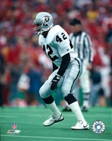 Ronnie Lott - Raiders Fine Art Print