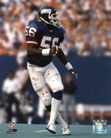 Lawrence Taylor - Action Framed Print