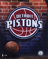 Pistons - 2006 Logo Framed Print