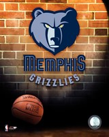 Grizzlies - 2006 Logo Framed Print