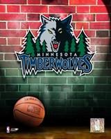 Timberwolves - 2006 Logo Fine Art Print