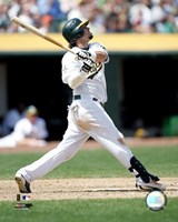 Nick Swisher - 2006 Batting Action Fine Art Print