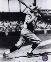 Babe Ruth - Batting Action Fine Art Print