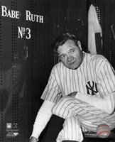 Babe Ruth - Farewell Game / Locker Room Fine Art Print