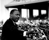 Rev. Dr. Martin Luther King Jr. Speaking (#8) Fine Art Print