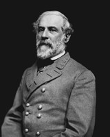 Portrait of General Robert E. Lee (#3) Fine Art Print