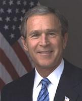 Official photograph portrait of U.S. President George W. Bush (#11) Fine Art Print