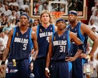 "Mavericks Group - 2006 Finals / Game 4 (#26) by Angela Ferrante - 10"" x 8"""