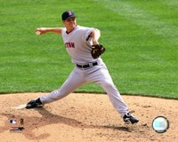 "Jonathan Papelbon -  2006 Pitching Action by Angela Ferrante - 10"" x 8"", FulcrumGallery.com brand"