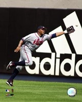 Andruw Jones - 2006 Fielding Action Fine Art Print