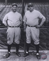 Lou Gehrig / Babe Ruth - Full Body / Pinstripes Fine Art Print