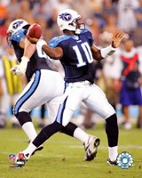 """Vince Young - '06 / '07 in action by Angela Ferrante - 8"""" x 10"""" - $12.99"""