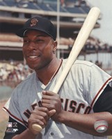 """Willie McCovey - Posed With / Bat by Angela Ferrante - 8"""" x 10"""""""